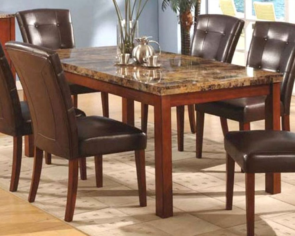 Marble Top Dining Table MO 8812TB