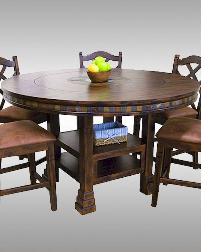 counter top kitchen table sets cabinet layouts sunny designs dining santa fe su-1225dc
