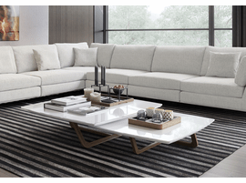 lexington sectional sofa painting a leather living room furniture modern contemporary in northern ...