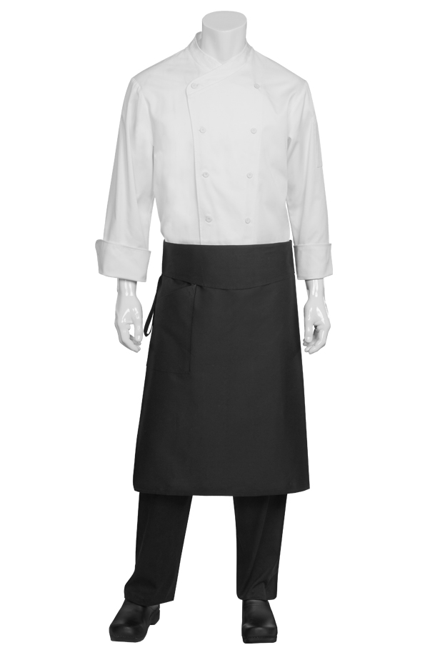 kitchen apron for kids latest trends in flooring black tapered waist