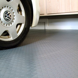 Floor Protectors Parking Mats Wall Guards And More Available In Functional Styles Patterns Floor Covering Garage Mat Garage Car Mat Cement