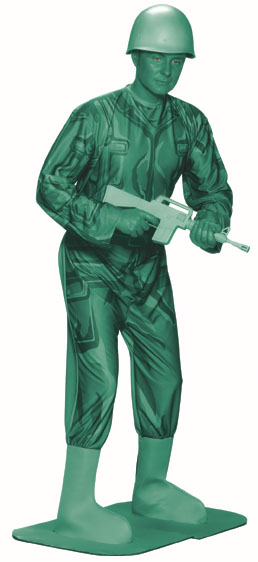 Adult Green Army Man Costume  Best Mens Costumes 2015