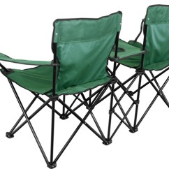 Double Camping Chairs Folding Human Scale Freedom Chair Brandsonsale Com Table And Cup Holder View Back
