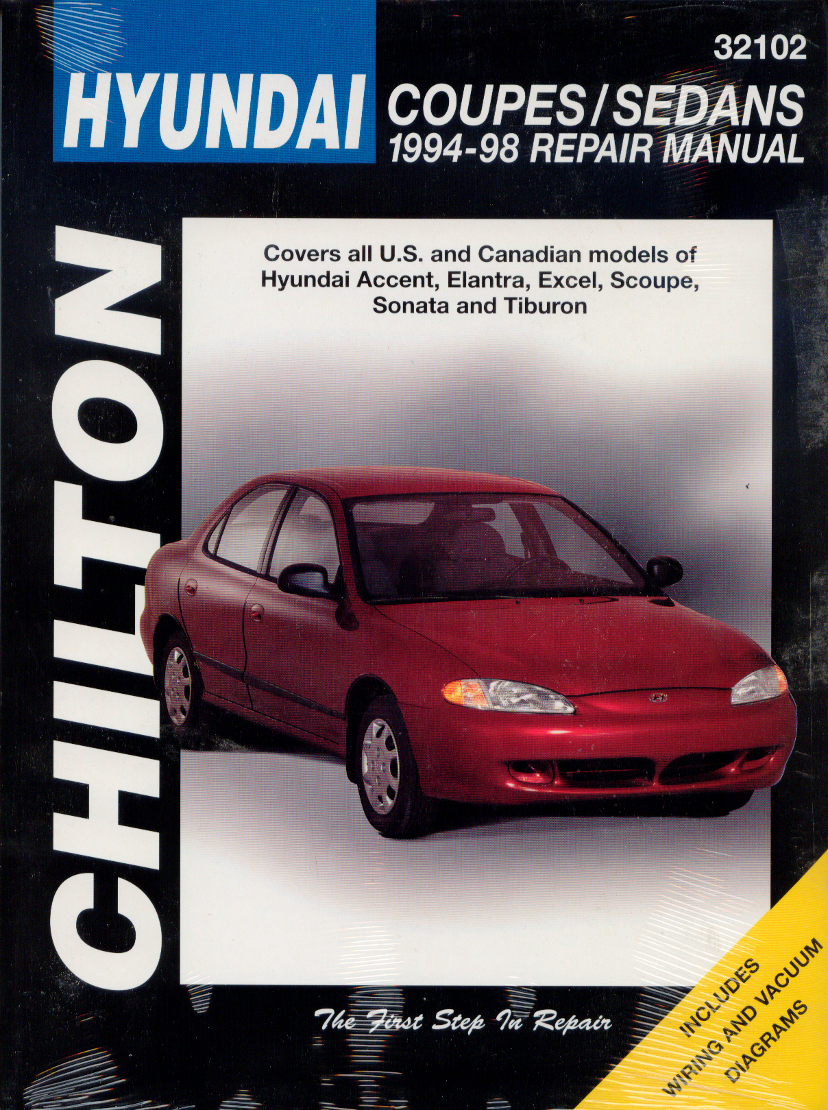 hight resolution of hyundai accent elantra excel scoupe sonata tiburon chilton repair manual