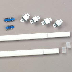 Flat Sash Steel Curtain Rods By Kirsch In 3 Sizes