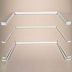 specialty curtain rods bay window rods