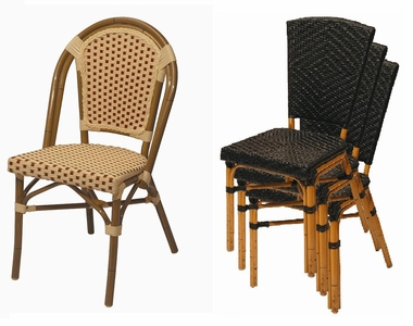 stackable outdoor chairs ergonomic chair jumia cafe all weather