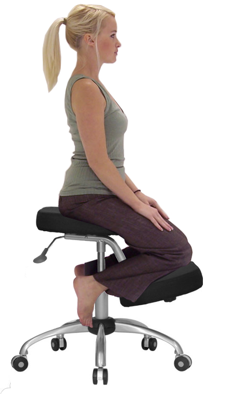 ergonomic posture kneeling chair fishing tcg