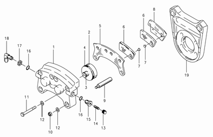Cleveland 30-67 Brake Assembly Parts List from SkyGeek.com