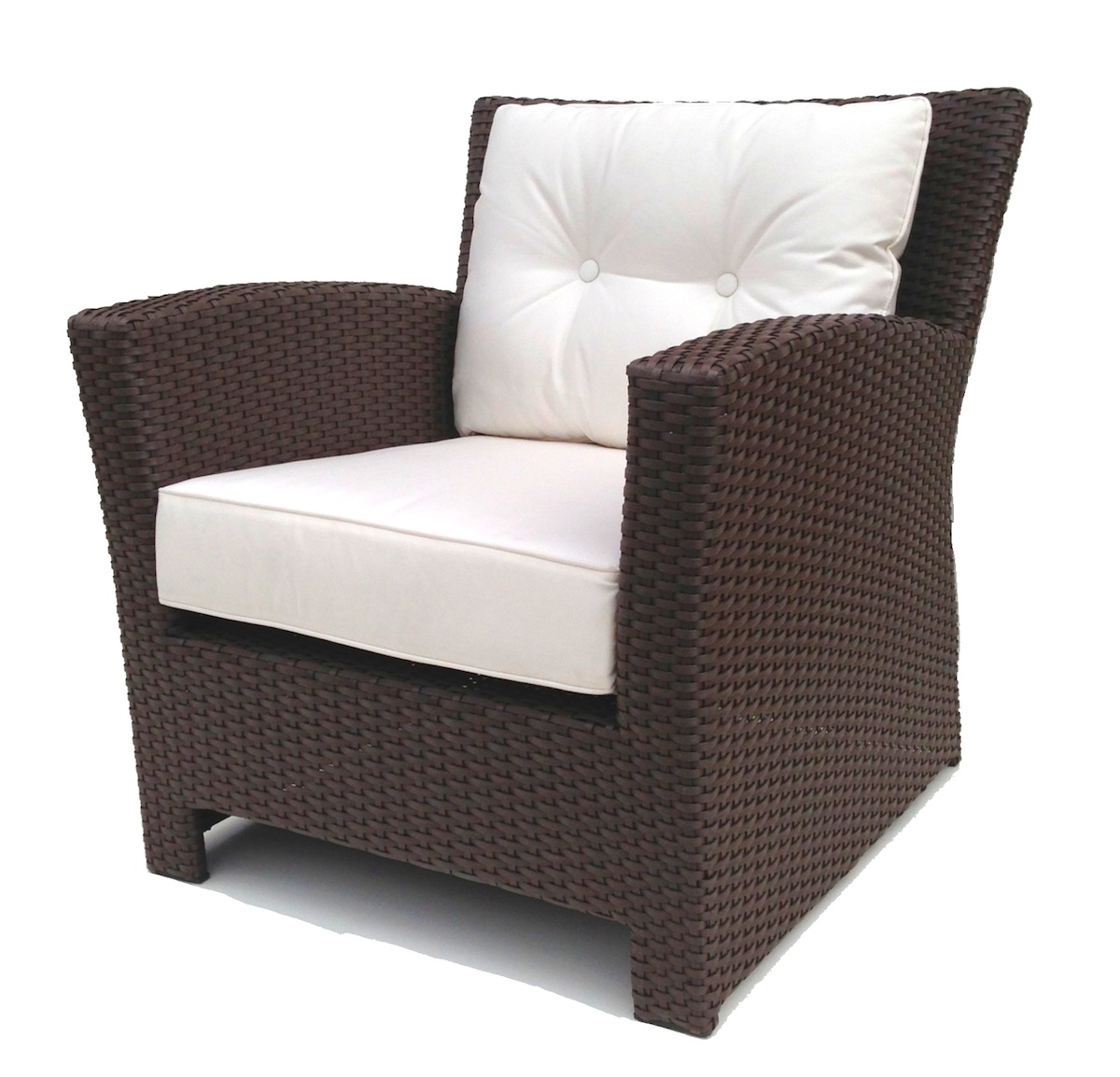 Wicker Patio Chair Outdoor Wicker Club Chair