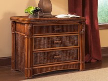 Rattan Chest - 3 Drawer Barbados Wicker Paradise