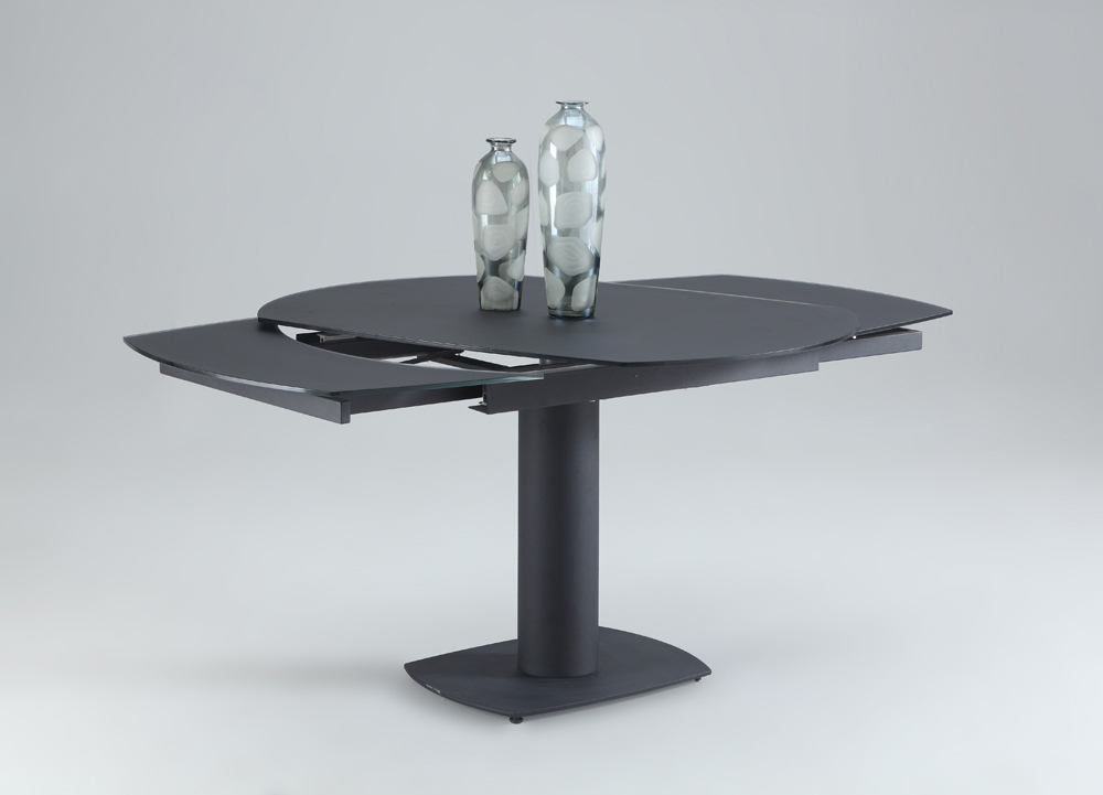 Chintaly Grace Dining Table In Black GRACE DT BLK