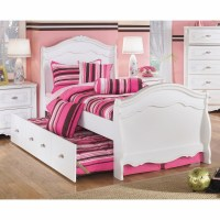 Signature Design by Ashley - Exquisite Twin Sleigh Bed ...