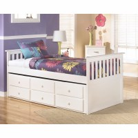 Signature Design by Ashley - Lulu Twin Trundle Bed