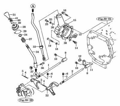 BOOT FOR MAIN GEAR CHANGE LEVER ON 3510 MAHINDRA TRACTOR