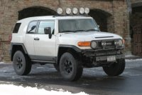 FJ Cruiser Front Light Bar 07