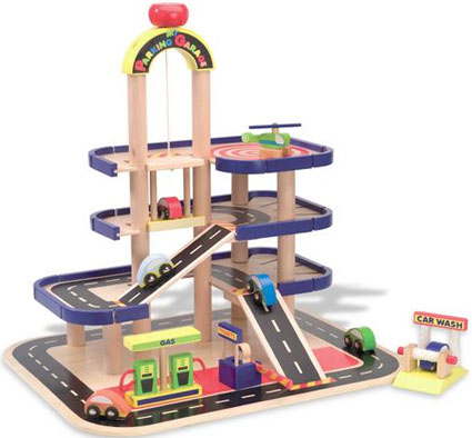 Parking Garage Kids Toy By Alex Toys