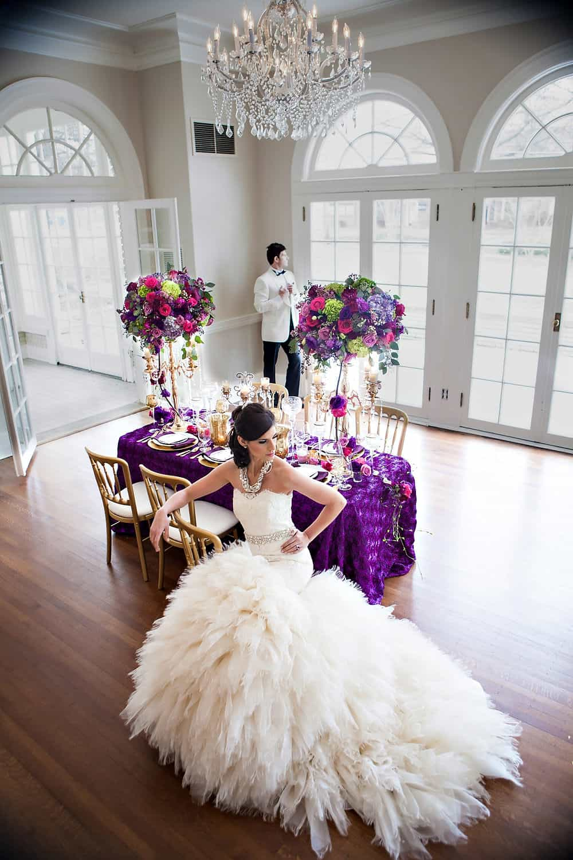 Mardi Gras Wedding Inspiration  Separk Mansion