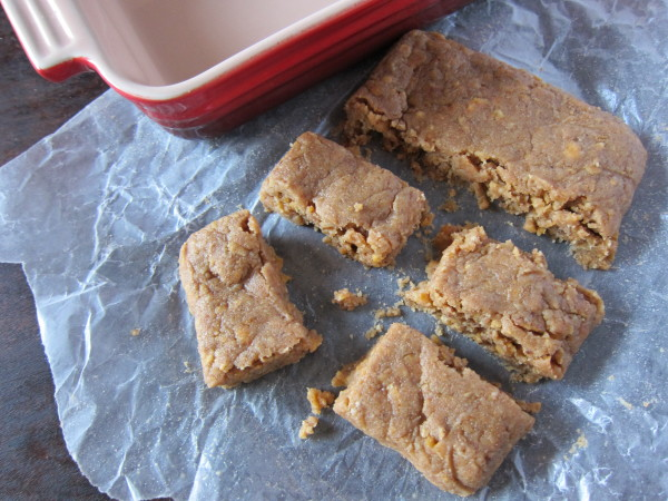 banana nut energy bars