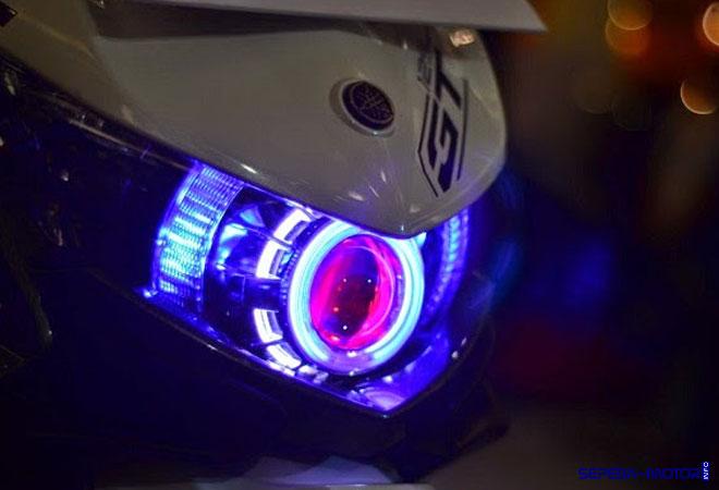 Cara Simpel Modifikasi Lampu LED pada Sepeda Motor  Info
