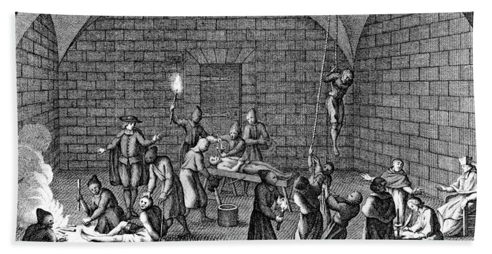Medieval Inquisition Torture Chamber