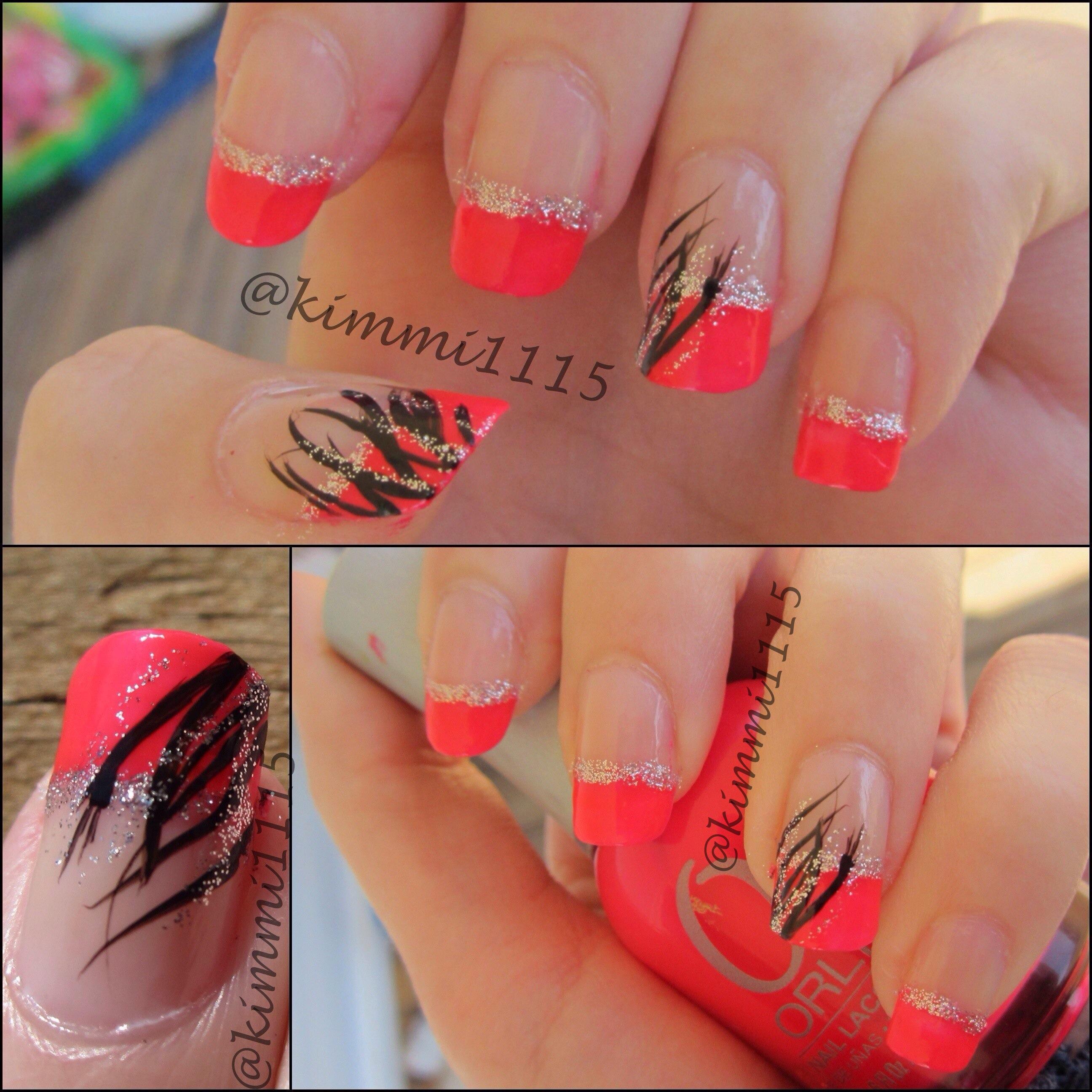 21st birthday nails - beauty insider