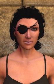 Eye patch, black