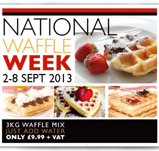 National Waffle Week