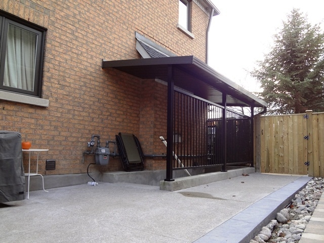 Solid Patio Covers | Outdoor Basement Stairwell Covers | Sloped | Step | Outside | Window Well | Basement Egress Door