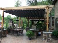 Canopies: Retractable Pergola Canopy