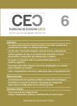 Número 6 de Cuadernos de Economía Crítica disponible en línea