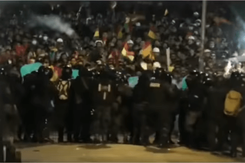 The coup d'etat in Bolivia is comparable to the one in 1973 in Chile