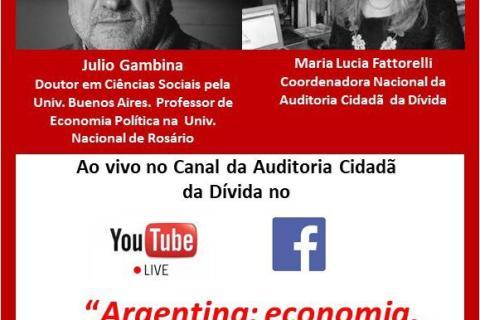 Debate Maria Lucia Fattorelli y Julio Gambina – transmisión en vivo