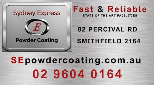 Banner Sydney Express Powder Coating RED Final