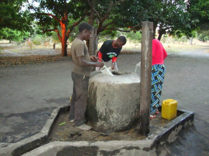 Photo of a new well
