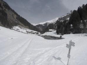 Mindelheimer Hütte Schneeschuhwandern Alpen