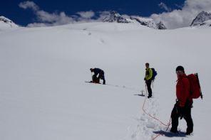 Silvrettahütte Gletscherkurs