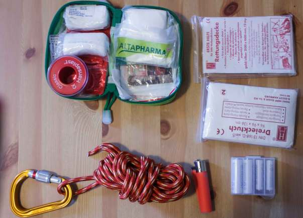 Notfallset Wandern Erste Hilfe Set