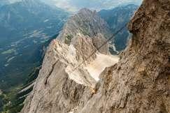 Zugspitze wandern besteigen