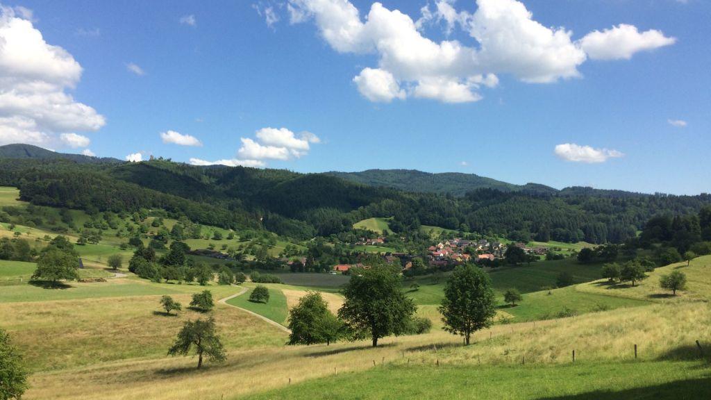 Kandern Sausenburg Schloss Buerglen