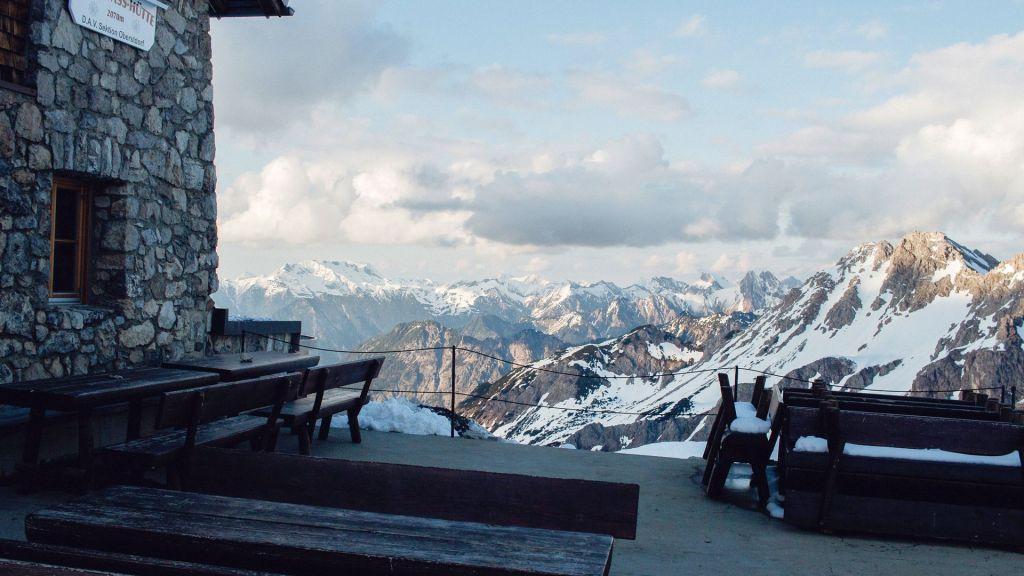Aufstieg Fiderepasshütte Wildenhütte