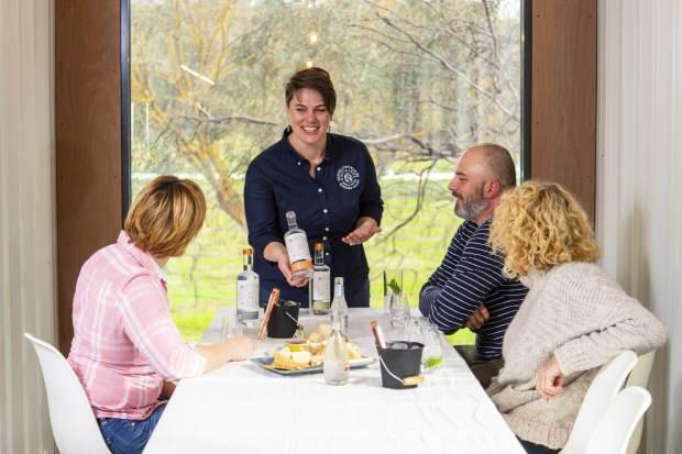 Bec Henderson - Tasting Room Manager Seppeltsfield Road Distillers Barossa Valley, South Australia