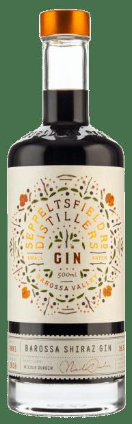 Seppeltsfield Road Distillers Barossa Shiraz Gin 500ml Barossa Valley
