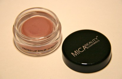 { Ipsy - Mica Tinted lip moisturizer in the colour 'Natural' }