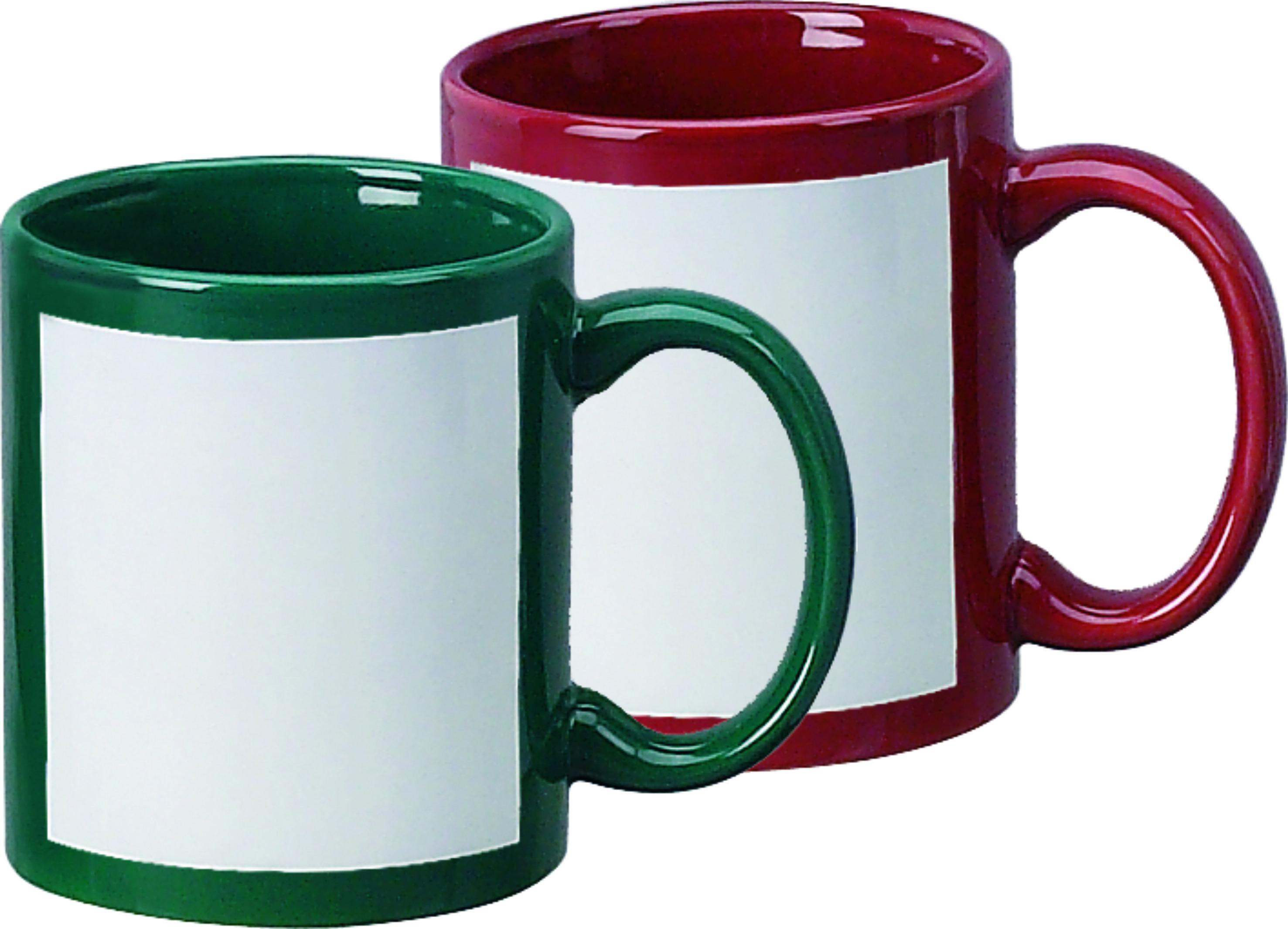 sublimation mug color mug