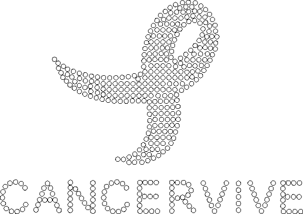 Free rhinestone download Cancer Ribbon Cancervive