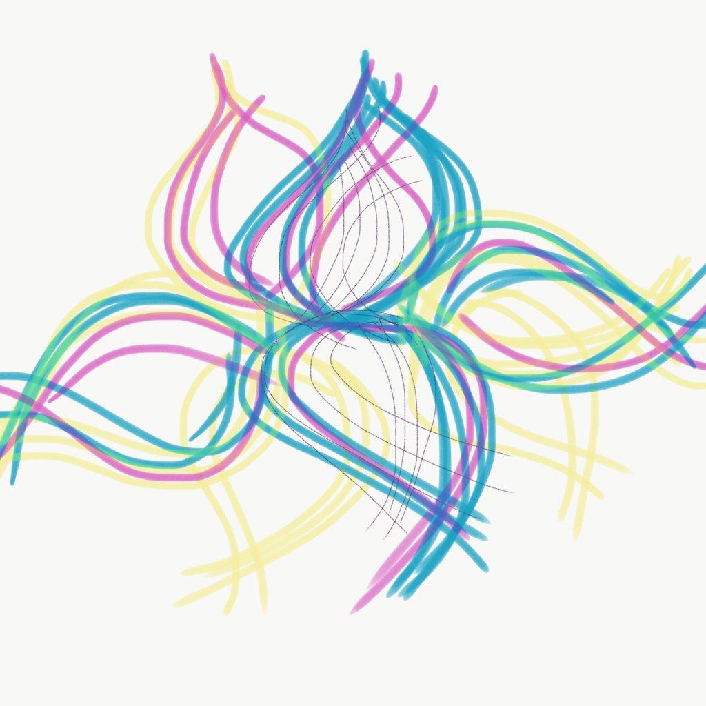 Line Leaf No_8867 Digital Drawing - Sepsis Brain Fog Recovery