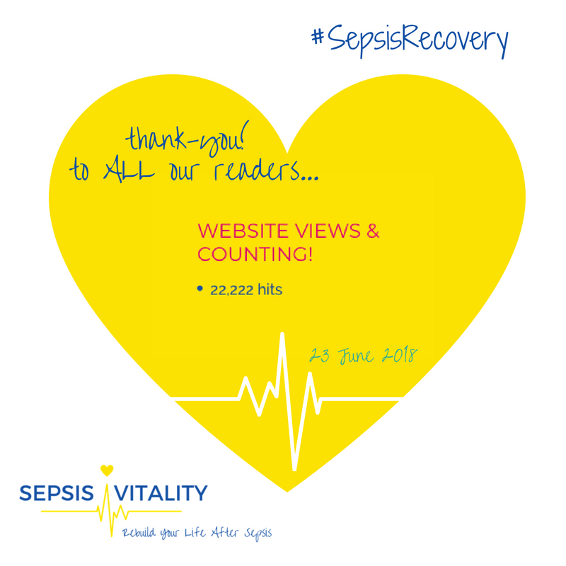 Sepsis Vitality Website Is A Hit - 22,222 Views And Counting