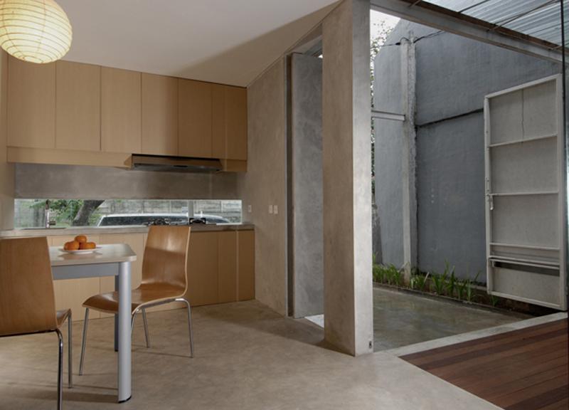 Teknik Finishing dinding dengan Beton expose  Artikel