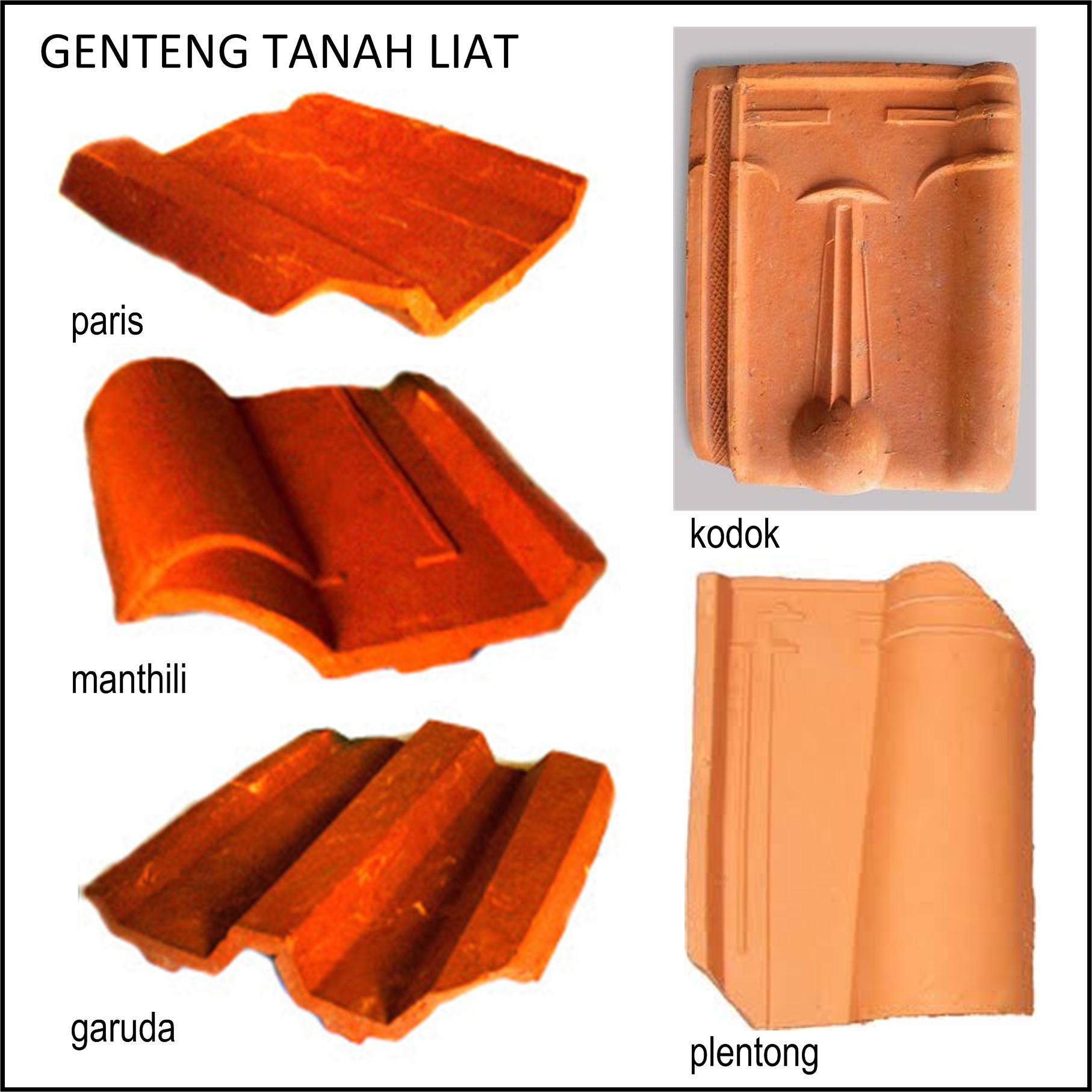rangka baja ringan pakai genteng tanah pilah pilih material atap rumah minimalis rooang com